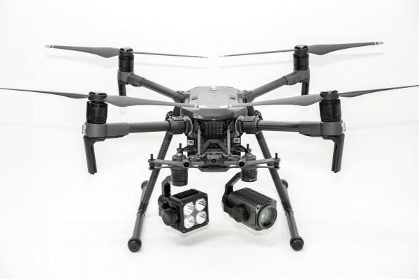 DP Spotlight Laser Suchscheinwerfer 48W 10200lm | DJI PSDK SkyPort