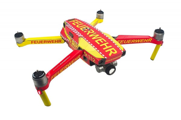 DJI Mavic 2 Enterprise | Drohnen-Folien-Set im Feuerwehr Design