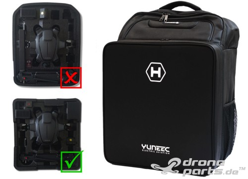 Yuneec Typhoon H Stoff Rucksack Backpack small