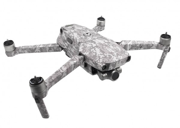 DJI Mavic 2 Enterprise | Drohnen-Folien-Set CamaDigital Tarn Grau Design
