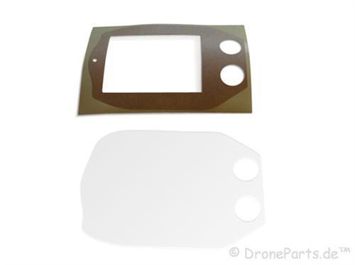 AR.Drone 2.0 DroneParts Bodenplatte / base plate (durchsichtig)