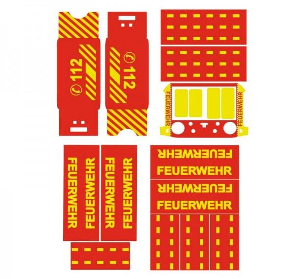 DJI Matrice 300   Basic-Design-Folien-Set / Feuerwehr