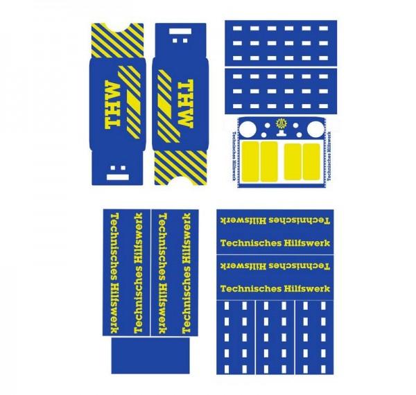 DJI Matrice 300 | Basic-Design-Folien-Set / THW