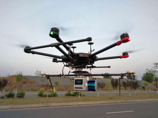 GreenValley LiAir S220 | UAV 3D-Kartierung