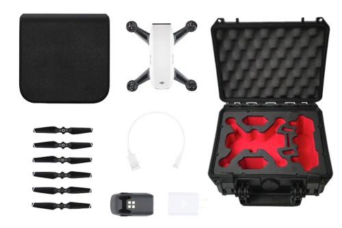 DJI Spark - droneparts Bundle (Alpinaweiß)
