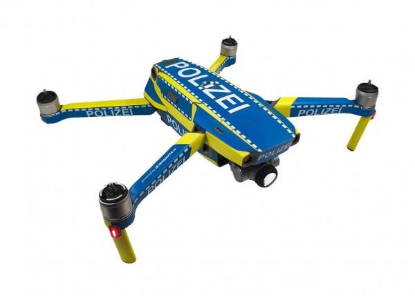 DJI Mavic 2 Enterprise | Drohnen-Folien-Set im Polizei Design