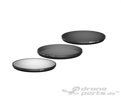 DJI Zenmuse X5 Polarpro Filter 3-Pack (UV, CP, ND8)