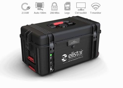 elistair Safe-T Tethering System | kabelgebundene Stromzufuhr