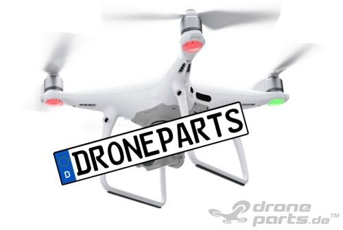 UAV / Copter / Drohne - Kennzeichen / Schild / Aufkleber / Etikett
