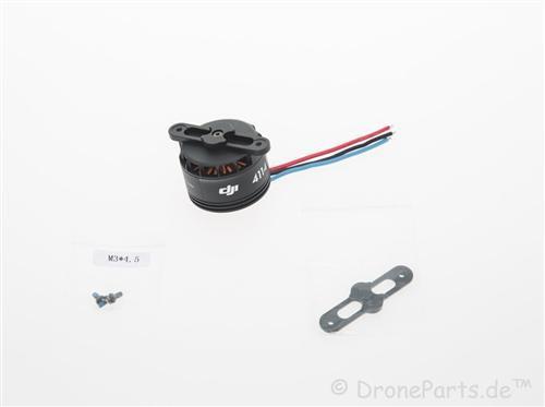 DJI S900 4114 Motor mit schwarzer Propellerabdeckung - Ersatzteil 21