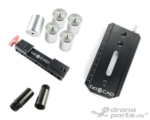 DJI Ronin-MX | Counterweight Pro Set with adjustable Camera Mountingplate