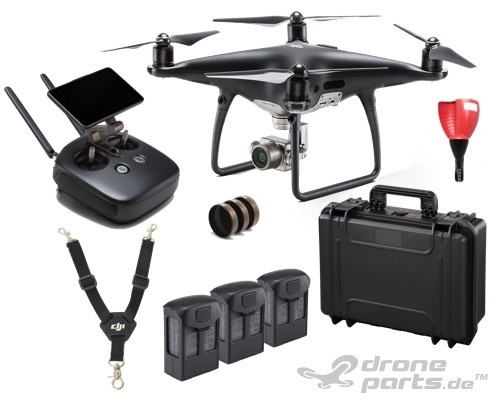 DJI Phantom 4 Pro Plus Obsidian - Producer Profi Paket