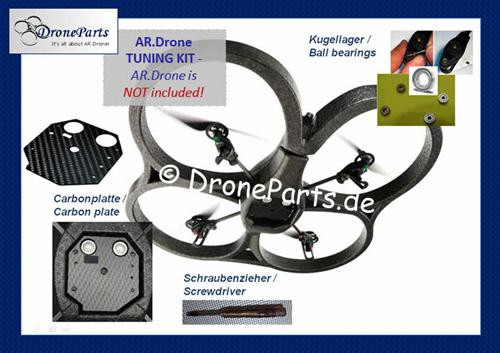 "Parrot AR.Drone 1.0 ""TUNING-BUNDLE"" / starter package"