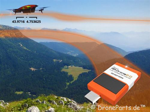 AR.Drone 2.0 Flight Recorder mit GPS
