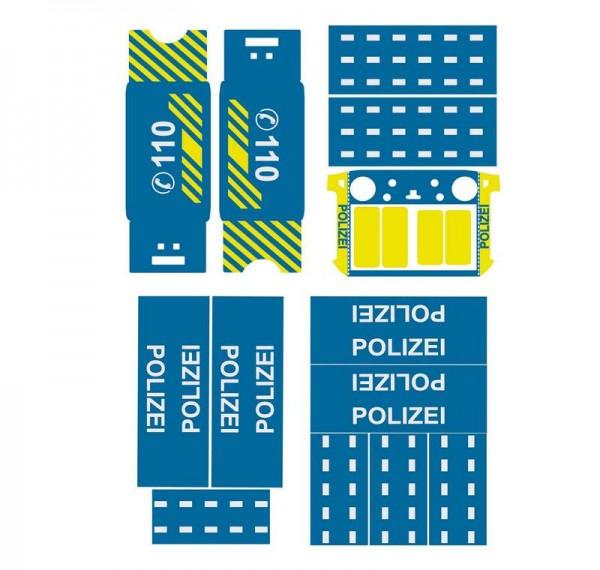 DJI Matrice 300 | Basic-Design-Folien-Set / Polizei