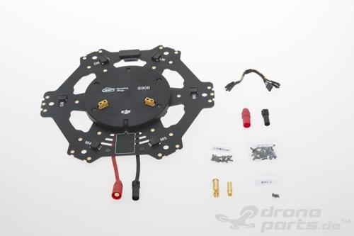 DJI S900 Center Frame Bottom Board - Ersatzteil 14