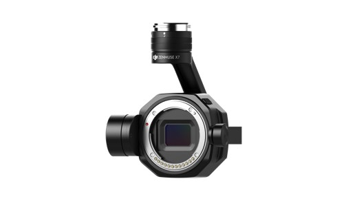 DJI Zenmuse X7 (ohne Objektiv) - Super 35 Sensor | 6K CinemaDNG | 5.2K Apple ProRes | 14 Blendstufen