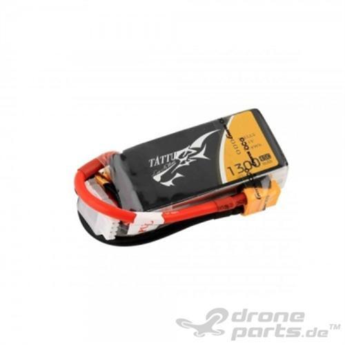 Tattu 1300mAH 45C 3S 11.1V FPV Racer Lipo