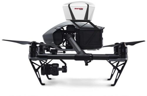 ParaZero SafeAir 5 Fallschirm Sicherheitssystem für Multicopter von 1-5kg