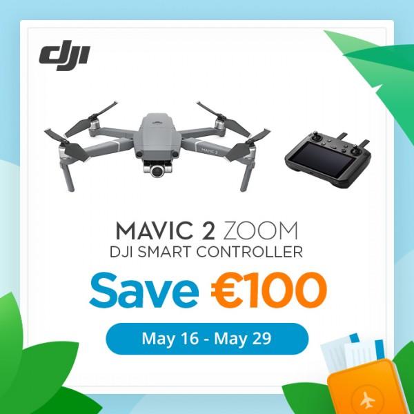 Summer Promotion: DJI Mavic 2 Zoom | mit DJI Smart-Fernsteuerung