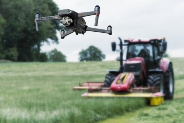 Rehkitz Suche per Drohne