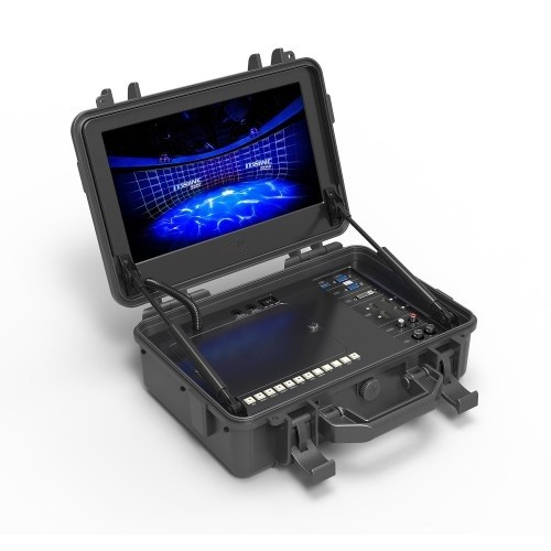 DP 12,5 Zoll Feld-Monitor-Koffer Set