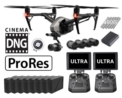 DJI Inspire 2 Cinema Premium Set