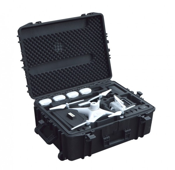 DJI Phantom 4 RTK mit D-RTK 2 | Trolley Outdoor Case