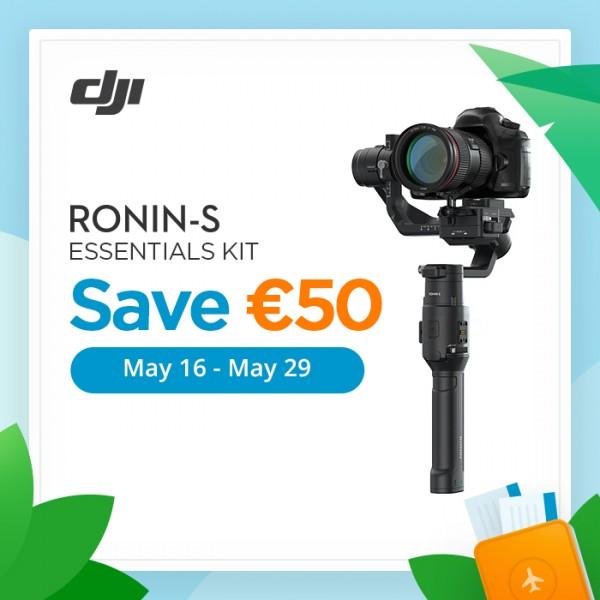 Summer Promotion: DJI Ronin-S Essentials Kit