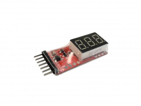 LiPo 1-6S Prüfer Tester Checker Monitor