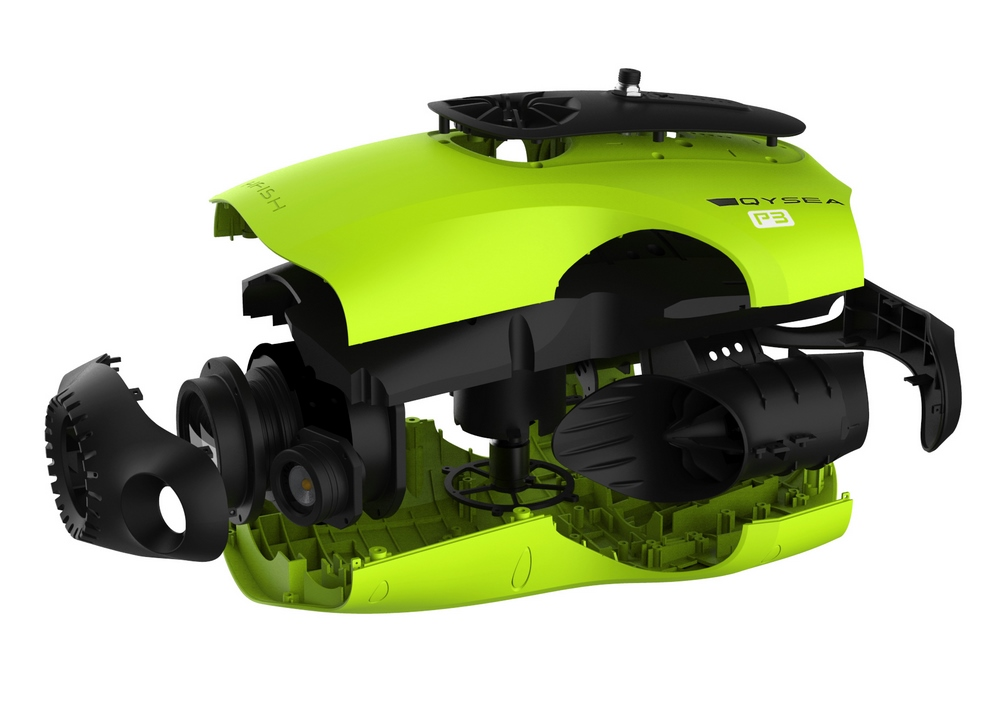 qysea fifish p3 unterwasser drohne mit 4k kamera. Black Bedroom Furniture Sets. Home Design Ideas