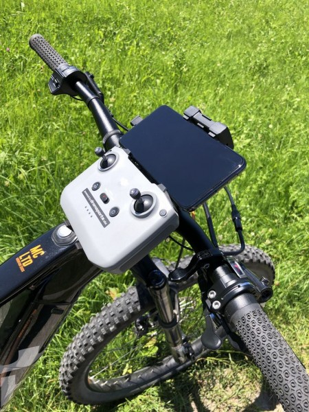 DJI Mavic Air 2   RC Bike Stativ Mount 1/4 Zoll