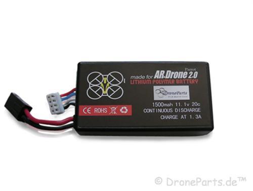 1500mAh Lipo - für original AR.Drone 2.0 Ladegerät!