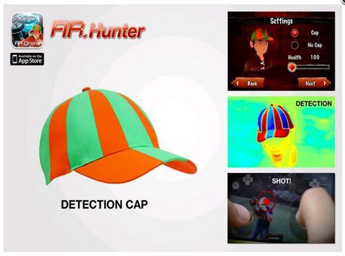Parrot Erkennungskappe / CAP für AR.Drone, NEU!