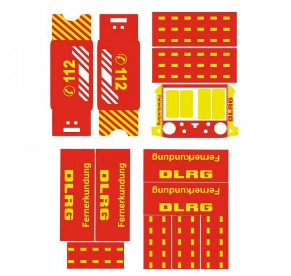 DJI Matrice 300 | Basic-Design-Folien-Set / DLRG