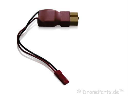 XT60-Buchse XT60-Stecker mit JST-BEC Buchse / in-line Poweradapter