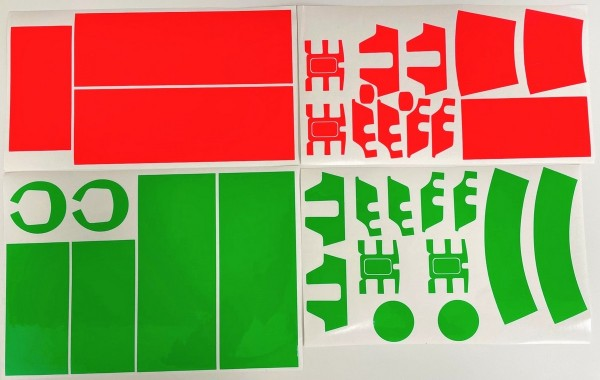 DJI Matrice 300 RTK | Folien Set Rot / Grün