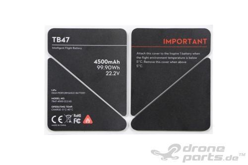 DJI Inspire 1 TB47 Batterieaufkleber - Ersatzteil 50