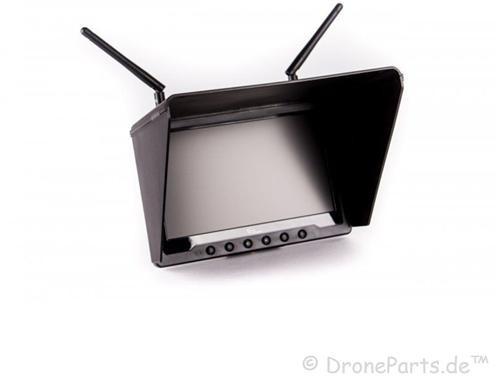 TFT FPV Set - Monitor mit Empfänger, Lipo, 25mW Sender